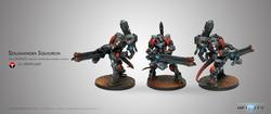 Infinity Szalamandra Squadron - Nomads