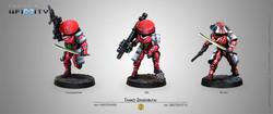 Infinity Tanko Zensenbutai - Non-Aligned Armies