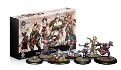 Guild Ball Butcher's Guild - The Scarlet Circle - Team Pack
