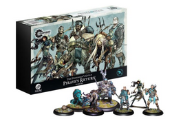 Guild Ball Fisherman's Guild - Pirate's Return - Team Pack
