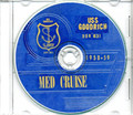 USS Goodrich DDR 831 1958 -  59 NavyShip Cruise Book CD