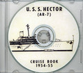 USS Hector AR 7 1954 - 1955  Cruise Book on CD RARE
