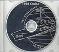 USS Wedderburn DD 684 1958 Cruise Book on CD RARE