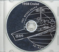 USS Wedderburn DD 684 1958 Cruise Book on CD RARE