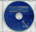 USS Steinaker DD 863 1952 Med Cruise Book on CD