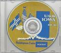 USS Iowa BB 61 Battleship1953 Log CRUISE BOOK CD