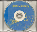 USS Muliphen AKA 61 1953 1954 Med Cruise Book CD