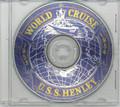 USS Henley DD 762 1953 54 World Cruise Book on CD RARE