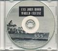 USS John Hood DD 655 1953 54 World Cruise Book on CD