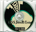 USS John R Craig DD 885 1954 - 1955 Cruise Book on CD
