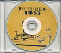 USS Shelikof AVP 52 1953 Med Cruise Book on CD