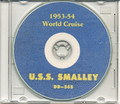 USS Smalley DD 565 1953 54 World Cruise Book on CD