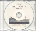 USS Casa Grande LSD 13 1953 Med Cruise Book CD