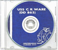 USS Charles R Ware DD 865 1957 CRUISE BOOK CD  US Navy