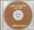 USS Colahan DD 658 1951-1952 Korea Cruise Book CD RARE