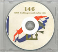 USS Collingsworth APA 146 CRUISE BOOK WWII Rare CD