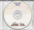 USS Coral Sea CVA 43 MED CRUISE BOOK Log 1953 CD