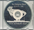 USS Duxbury Bay AVP 38 1954 1955 World Cruise Book CD