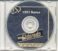USS Eldorado AGC 11 CRUISE BOOK Log Korea 1951 CD