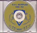 USS Keppler DDE 765 1953 Med Cruise Book on CD