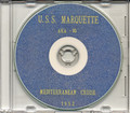 USS Marquette AKA 95 1952 Med Cruise Book CD
