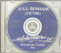 USS Benham DD 796 1952 Med Cruise Book on CD RARE