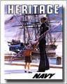 US Navy Vintage Canvas Print Heritage Pride 2D