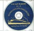 USS San Marcos LSD 25 1952 Med Cruise Book CD