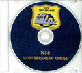 USS Shenandoah AD 26 1958 Cruise Book CD RARE