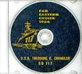 USS Theodore E Chandler DD 717 1954 Cruise Book CD RARE