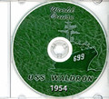 USS Waldron DD 699 1953 1954 World Cruise Book CD RARE