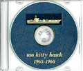 USS Kitty Hawk CVA 63 1965 - 1966 Cruise Book CD RARE