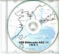 USS Eldorado AGC 11 CRUISE BOOK Log 1953 CD