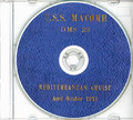 USS Macomb DMS 23 1953 Med CRUISE BOOK Log CD