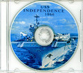 USS Independence CVA 62 1966 Med Cruise Book CD RARE