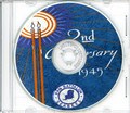 Seabees NCB 84th Naval Construction Battalion Log WWII CD RARE