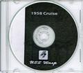 USS Wasp CVS 18 1958 Med Cruise Book Log Crew Photos The Huntsman CD