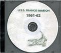 USS Francis Marion APA 249 1961 1962 CRUISE BOOK CD US Navy