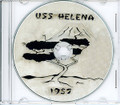 USS Helena CA 75 1957 Far East CRUISE BOOK CD  RARE US Navy
