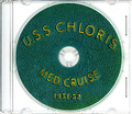 USS Chloris ARV 4 1951 - 1952 Med Cruise Book on CD RARE