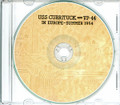 USS Currituck AV 7 and VP 44 Med CRUISE BOOK Log 1954  CD