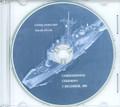 USS Taylor FFG 50 Commissioning Program on CD 1984 Plank Owner