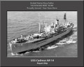 USS Cadmus AR 14 Personal Ship Canvas Print Photo US Navy Veteran Gift