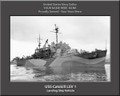USS Catskill LSV 1 Personalized Ship Canvas Print Photo US Navy Veteran Gift