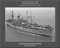 USS Grand Canyon AD 28 Personalized Ship Canvas Print Photo 3 US Navy Veteran Gift