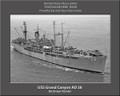 USS Grand Canyon AD 28 Personalized Ship Canvas Print Photo 3 US Navy Veteran Gift