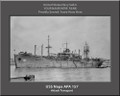 USS Napa APA 157 Personalized Ship Canvas Print Photo US Navy Veteran Gift