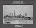 USS Napa APA 157 Personalized Ship Canvas Print Photo US Navy Veteran Gift