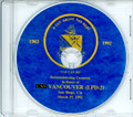 USS Vancouver LPD 2 Decommissioning Program on CD 1992 Plank Owner