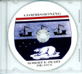 USS Robert E Peary DE 1073 Commissioning Program on CD 1972